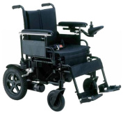 "Cirrus Plus EC Folding Power Chair - 18"" Wheelchair, with Flip Back Arms"