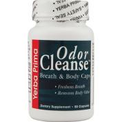 Yerba Prima Odour Cleanse, Breath and Body Capsules, 50-Count