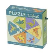 Dinosaurs Puzzle Wheel