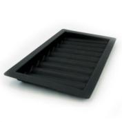 9 Row Chip Tray - black