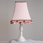 Pam Grace Creations LS-CHOCP LAMP SHADE CHOCOLATE DELIGHT - pink