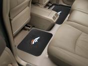 Fanmats 12312 NFL - 36cm . x43cm . - NFL - Denver Broncos Backseat Utility Mats 2 Pack