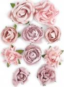 Kaisercraft 465736 Paper Blooms-Dusty Pink