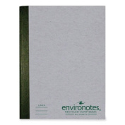 Roaring Spring Paper Products 77270 Environotes Comp Book - 80 Sheets Per Book