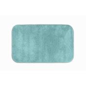 Garland Rug SIG-2440-06 Cabernet 24 in. x 40 in. Nylon Washable Rug Sea Foam