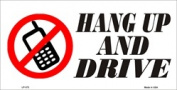 LP - 372 Hang up and Drive Licence Plate - 5478