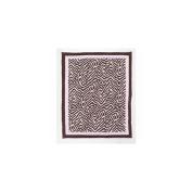 Pam Grace Creations R-ZEBRA Zara Zebra Rug - pink, brown