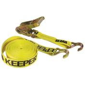 Keeper Double-j Ratchet Tie Down Yellow 27 Feet - 04622