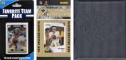 C & I Collectables 2010SAINTSTSC NFL New Orleans Saints Licenced 2010 Score Team Set and Favourite Player Trading Card Pack Plus Storage Album