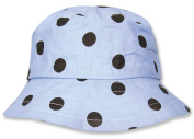 Trend Lab 100814-2T Bucket Hat- Max Dot Percale- Size 2T