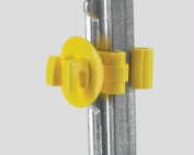 Dare Products Super Snug T-post Insulator Yellow - SNUG-STP-25