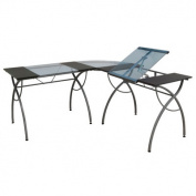Studio Designs 10080 Catalina Split Top LS Workcenter - Pewter