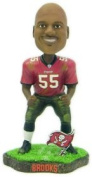 Tampa Bay Buccaneers Derrick Brooks Game Worn Forever Collectibles Bobble Head