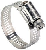 Ideal Division-stant .96.5cm . To .223.5cm . Sure-Tite Stainless Steel Hose Clamps 6706153 - Pack of 10