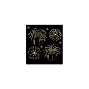 Ek Success E5020138 Jolees Bling Stickers Fireworks Gold