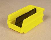 Triton Products 3-220Y 18.7cm . L x 10.5cm . W x 7.6cm . H Yellow Stacking Hanging Interlocking Polypropylene Bins 24 CT