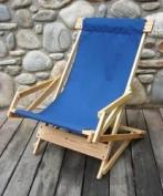 Blue Ridge Chair Works SRCH03WN Sling Recliner - Navy