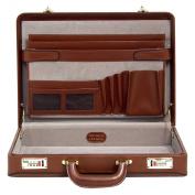 McKlein USA Reagan Leather Attache Case