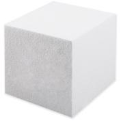 Smooth Foam Cube 13cm 1/Pkg-White
