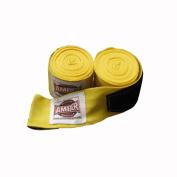 Amber Sporting Goods AHR-4002-Y 460cm . Elastic Handwraps Yellow