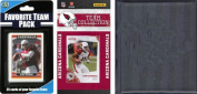 C & I Collectables 2010ARIZCARDTSC NFL Arizona Cardinals Licenced 2010 Score Team Set and Favourite Player Trading Card Pack Plus Storage Album