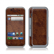 DecalGirl MBFP-DKBURL Motorola Backflip Skin - Dark Burlwood