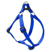 Lupine Step-In Harness for Small Dogs, 1/2-inch/ 10 - 13 cm, Blue