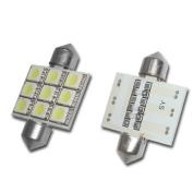 X5 Lightning 1036-9SMD-W X5 Lightning 1036 3 5050 Chips 9 SMD LED