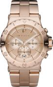 Michael Kors MK5314 Womens Rose Gold Tone Stainless Steel Bracelet Chronograph