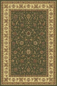 IMS 21130151006060 40 in. x 60 in. SUPERIOR QUALITY QUALITY AREA RUG-CLASSIC COLLECTION-LT GREEN