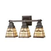 Meyda Tiffany 98195 50.8cm . W Arrowhead Mission 3-Light Vanity Light