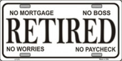 LP - 276 Retired Licence Plate - 327