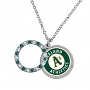 Game Time Group 101620 MLB Oakland Athletics Disc Necklace