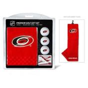 Team Golf 13420 Carolina Hurricanes Embroidered Towel Golf Ball 12 Golf Tee Gift Set