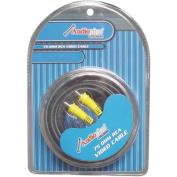 Audiopipe APV15 4.6m 75 ohm RCA Video Cable