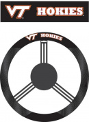 Fremont Die 58576 Poly-Suede Steering Wheel Cover - Virginia Tech Hokies