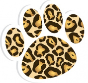 Ashley Productions ASH10024 Magnetic Whiteboard Eraser Leopard