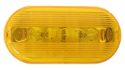 Peterson Mfg. Amber Oval Clearance Light V135A