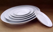 Pillivuyt 240126BL Oval Serving Platter - 26cm x 18cm