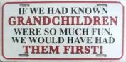 LP - 272 Grandchildren First Licence Plate - 288