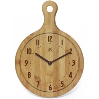 Infinity Instruments 14491BB-1263 The Chef Bon Appetit Clock