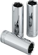SK Hand Tool SK 8434 .38 Drive- 12 pt. Deep Metric Socket- 14 mm