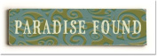 ArteHouse 0003-2607-24 Paradise Found Vintage Sign