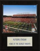 C & I Collectables 1215RUTSTAD NCAA Football Rutgers Stadium Plaque