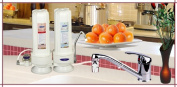 Crystal Quest CQE-CT-00108 Countertop Replaceable Double Multi Ultimate Water filter System