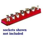 Mechanics Time Saver MTS713 3/8 Inch Drive Magnetic Rocket Red Socket Holder 5.5-22mm