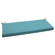 Pillow Perfect 507118 Outdoor Forsyth Bench Cushion in Turquoise - Turquoise