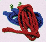 Partrade Horse Lead Cotton- Red 10 Feet - 248061\55601