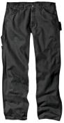 Dickies 90cm . X 80cm . Rinsed Black Relaxed Fit Sanded Duck Carpenter Jeans DU336RBK