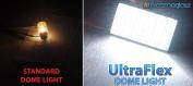 PlasmaGlow 10545 UltraFlex LED Dome Light - 1 .130cm . x 1 .130cm . - WHITE